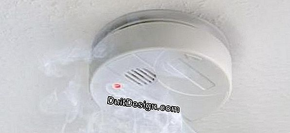 How to install a smoke detector (DAAF)?