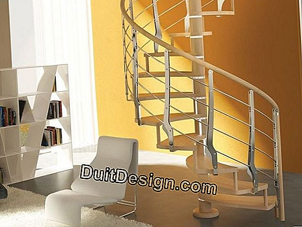 Trio Spiral staircase by Rintal