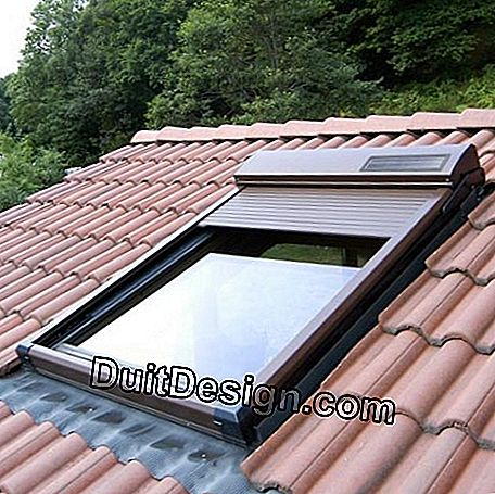 ATIX roller shutter for roof windows: atix