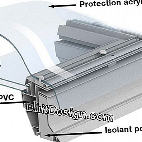 Window-dome for flat roofs: roof
