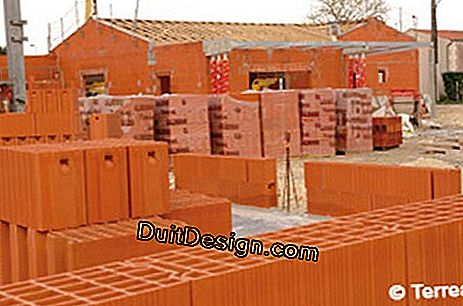 Monomur brick for a sustainable house