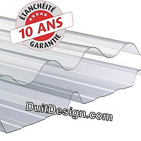 Two types of profiles are proposed: corrugated or ribbed (the corrugated profile in two sizes).