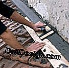 Install flashing and flashing bricks on a tile roof