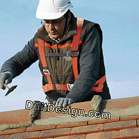Shaping of mortar joints