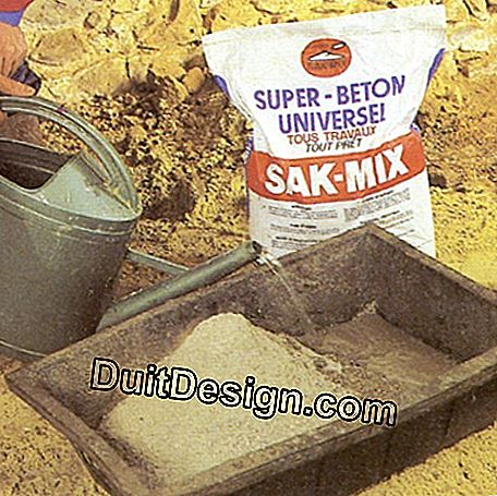 Ready mix concrete mixing