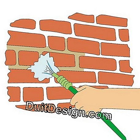 Watering the bricks prevents them from behaving like a blotter by absorbing the mixing water from the mortar.