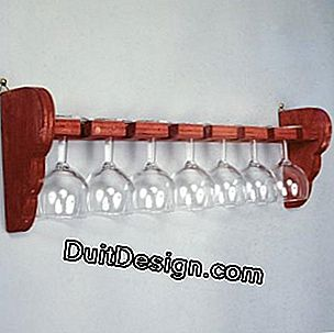Manufacture of a glass holder
