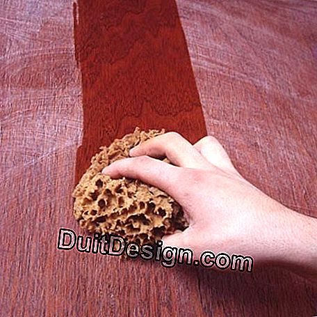 Elimination of sanding dust on the wood