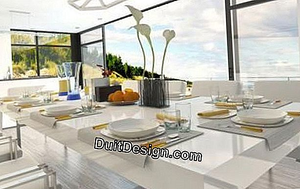 How to arrange a dining room