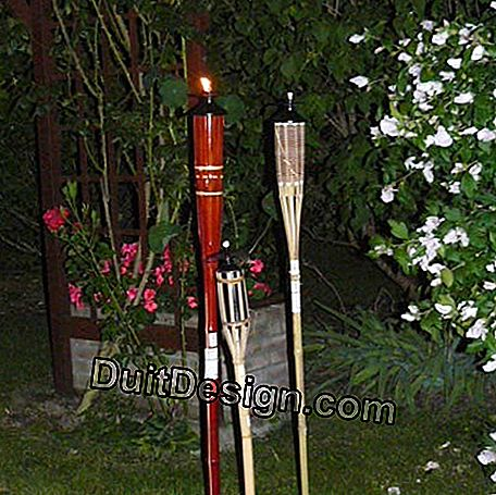 Garden torches: being