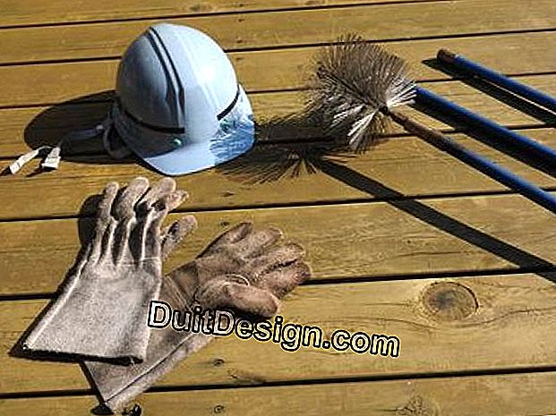 Chimney sweeping kit