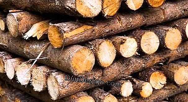 Supply a wood stove with logs and sticks