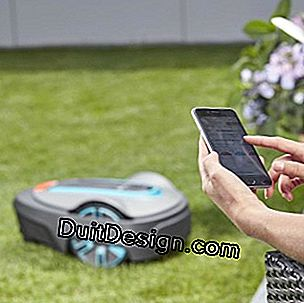 Control your mower with your smartphone