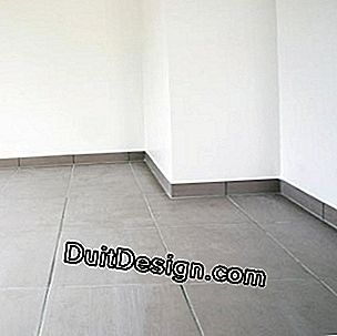Lay a tile on the floor on a particle board floor
