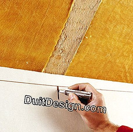 Install composite panels and glass wool under roof: composite