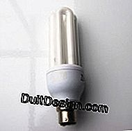 Compact fluorescent lamp.