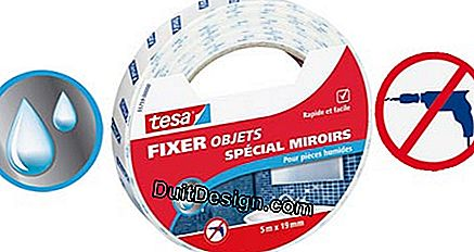 Tape Mounting Special Tesa® Mirror