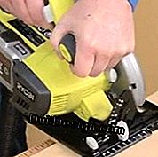 How to use a portable power saw