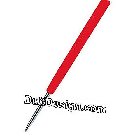 Tungsten carbide scriber