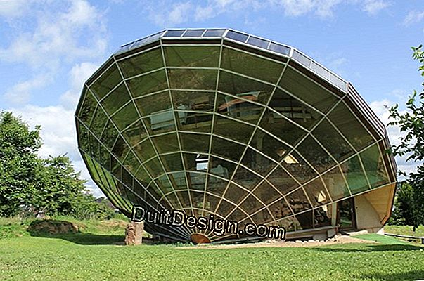 The Heliodome, a surprising solar house