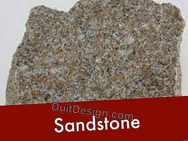 The different types of sandstone