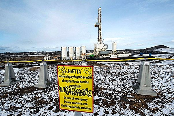 Heating problem in geothermal energy