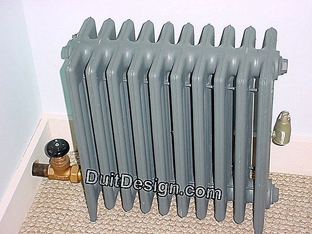 Central heating radiator that heats badly