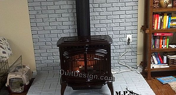 Wood stove (Painting JULIEN)