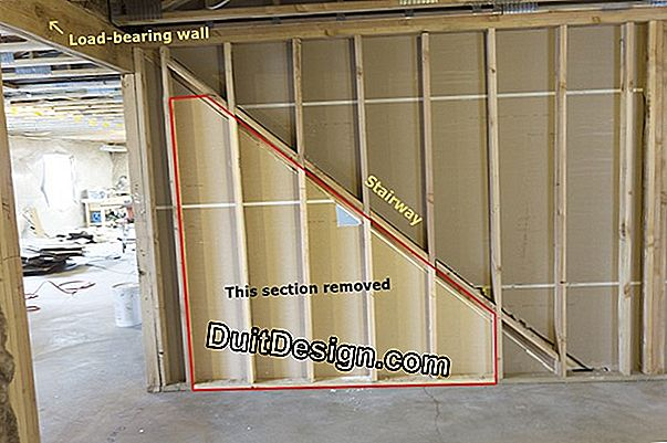 Recognize a bearing wall