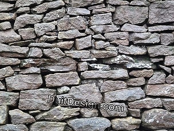 The stone walls
