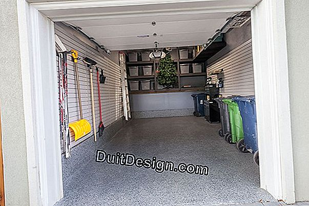 Renovate a garage ceiling