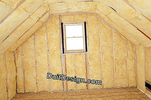Reinforce an outer insulation with Depron