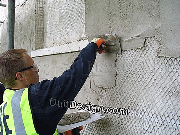 Waterproofing a lime rendering