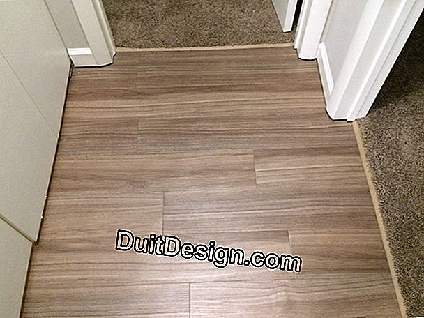 Flooring for hallway