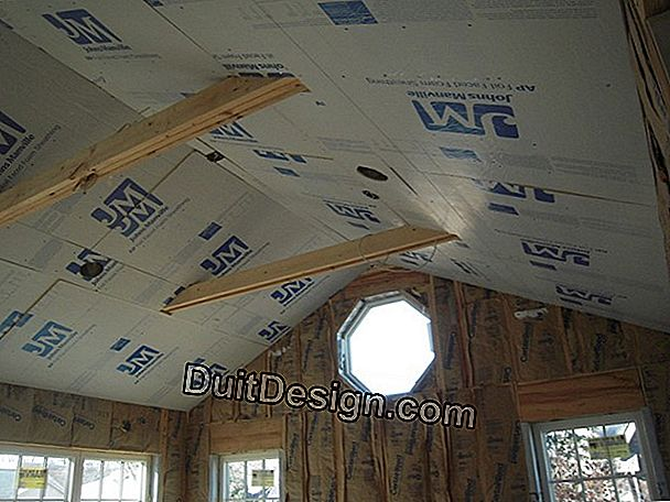 Insulate a ceiling and walls in bacula (lattice)