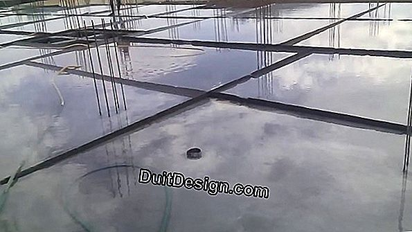 Drying time of a concrete slab