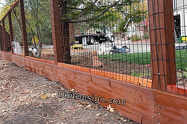 Dismantle a steel fence