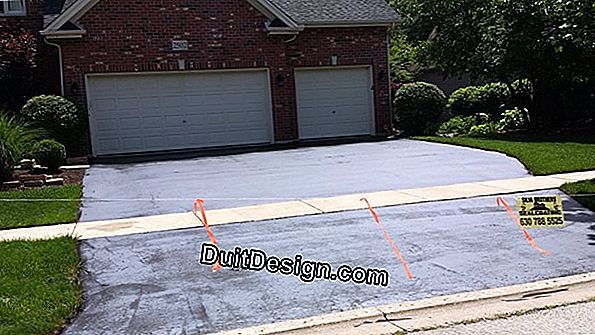 Make a driveway for the garage