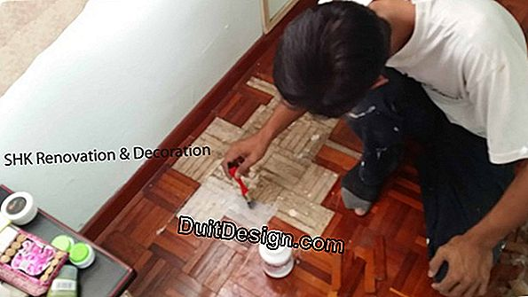Replace a parquet with a tile