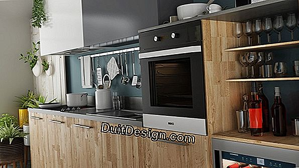 Design a kitchen whose walls are not straight
