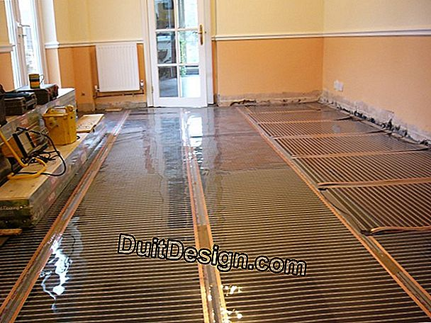 Floor heating floor