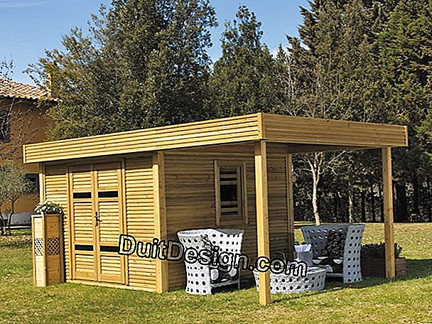 Isolate a wooden chalet