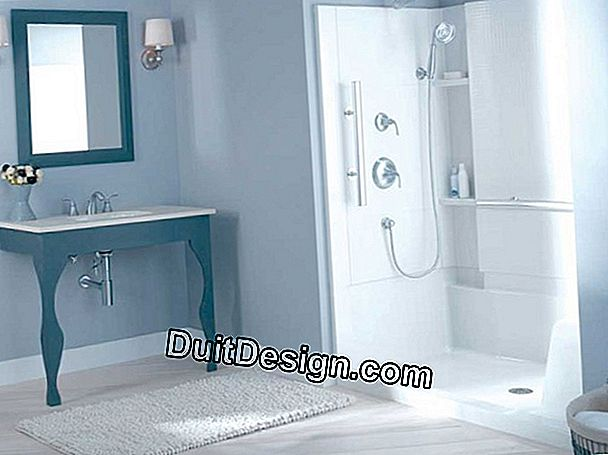 Install a walk-in shower