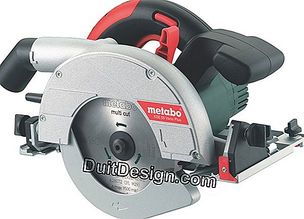 KSE 55 Vario Plus Plunge Circular Saw from Métabo