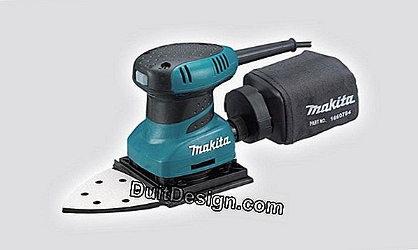 Makita triangular vibrating sander