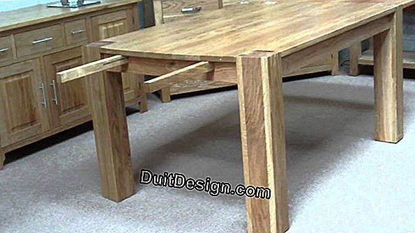 A removable table extension