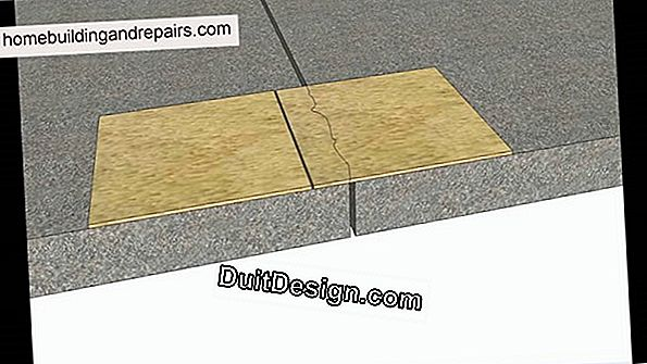 Tile joints that crack