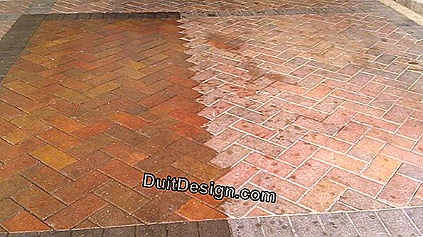 Protect a cracked terracotta tile
