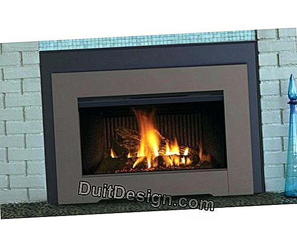 Choose a fireplace with insert
