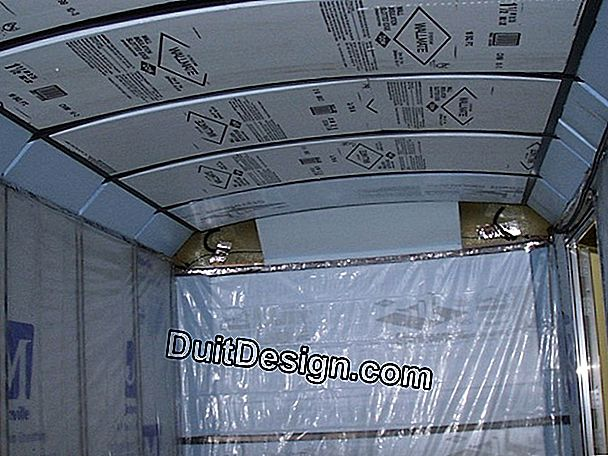 Insulated interior insulation panels